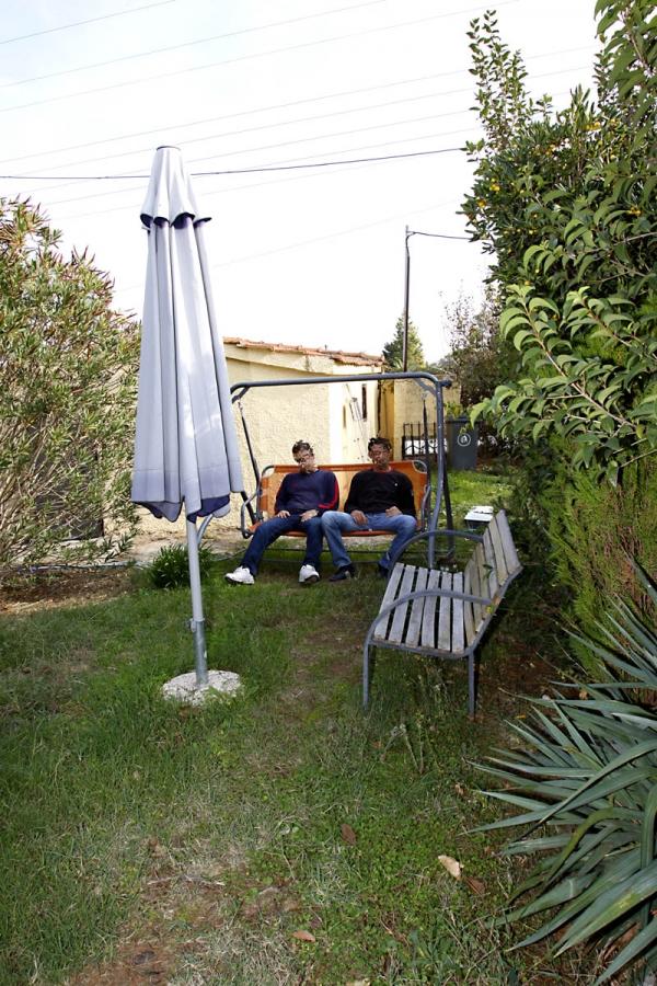 Στο κήπο